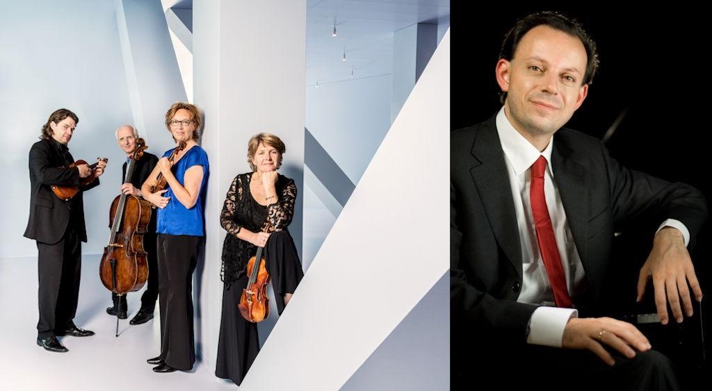 Utrecht String Quartet en Paolo Giacometti