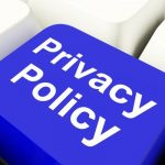privacy beleid button